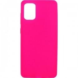 Θήκη Σιλικόνης Για Samsung Galaxy A71 Ροζ-Φούξια